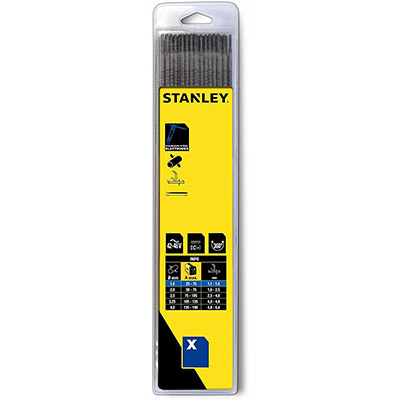Stanley electrodos de acero inoxidable